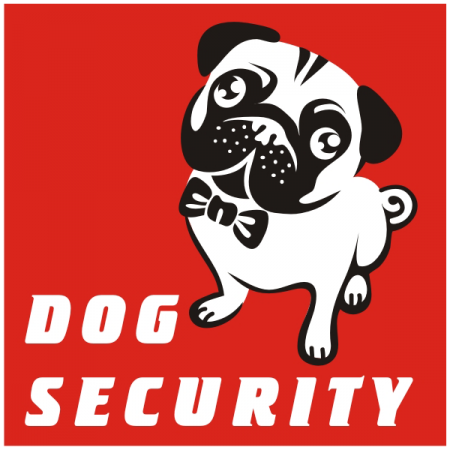 "Знак ""Dog Security"""